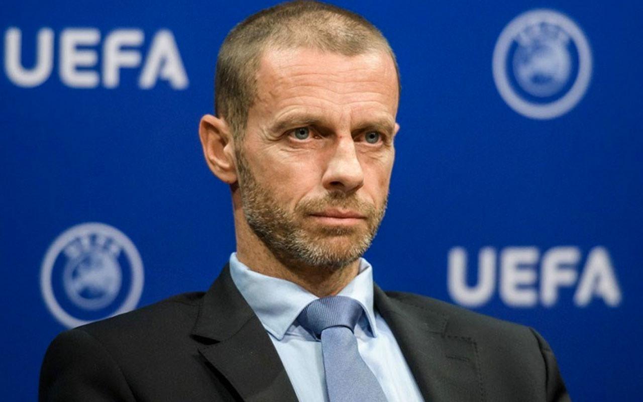 UEFA Başkanı Ceferin'den Avrupa Süper Ligi açıklaması