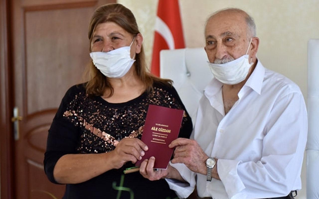 Türkiye'nin kibar tavrıyla tanıdığı Burhan amca evlendi