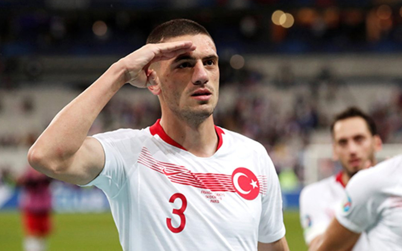 Kızılay'dan Merih Demiral'a teşekkür