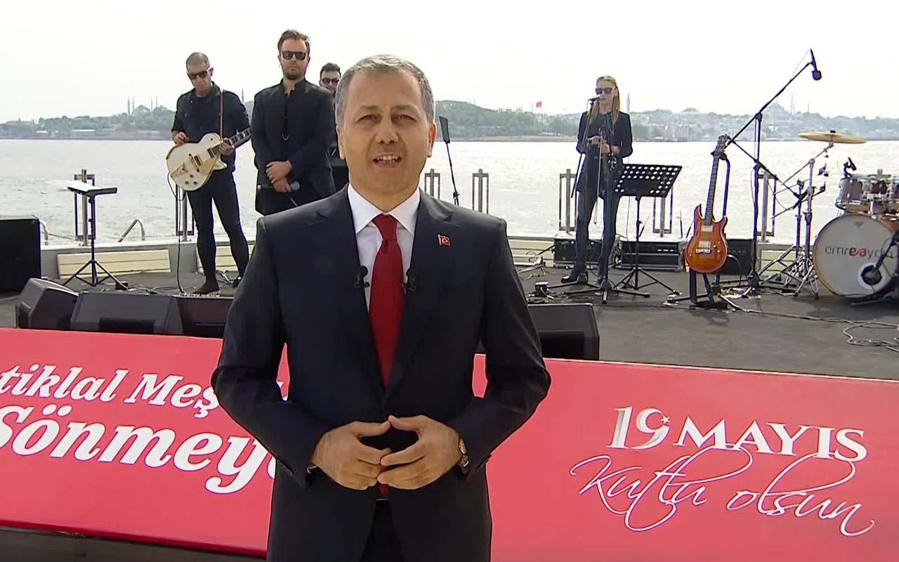 İstanbul Valiliği'nden Kız Kulesi'nde Emre Aydın konseri