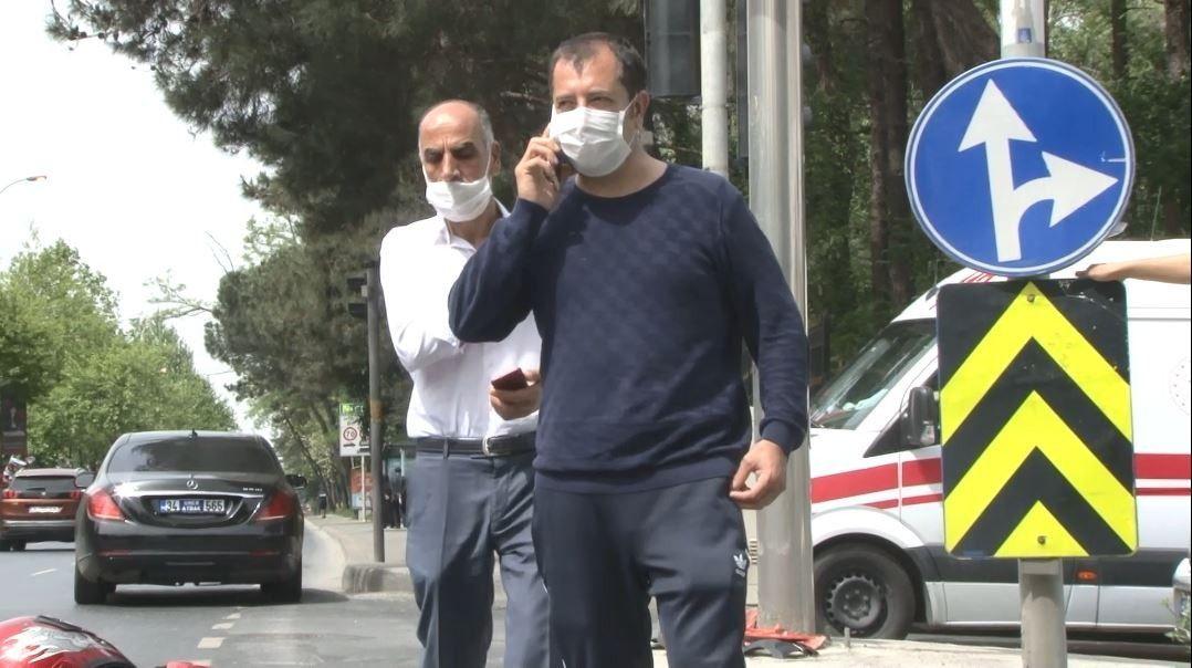 Meşhur çiğköfteci Ömer Aybak lüks otomobiliyle kaza geçirdi!