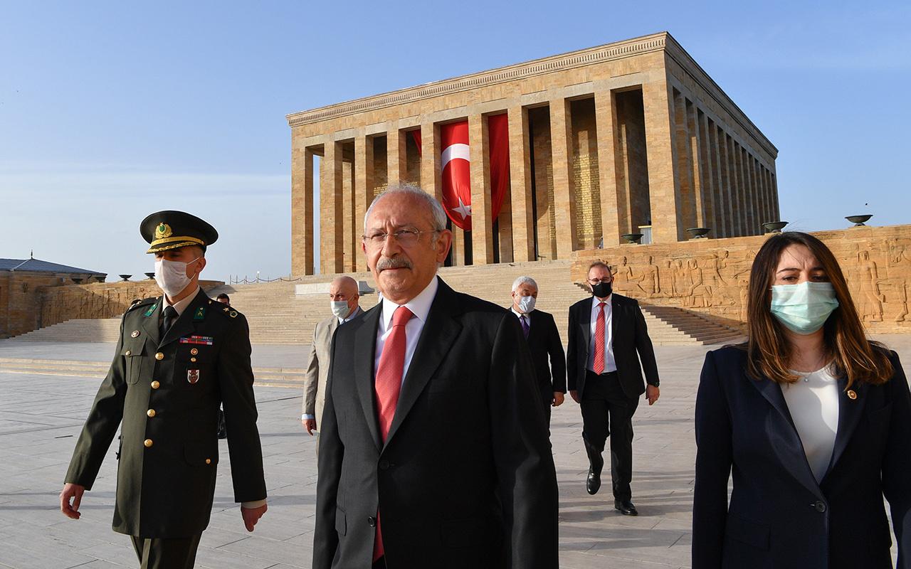 CHP Genel Başkanı Kılıçdaroğlu Anıtkabir'i ziyaret etti
