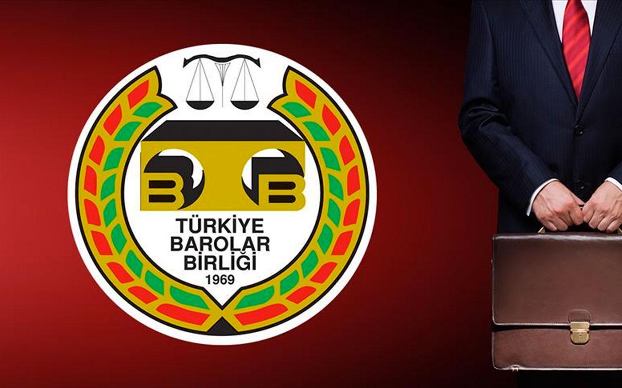 TBB ve 80 barodan ortak bildiri: Seçim sisteminde değişikliğe karşıyız