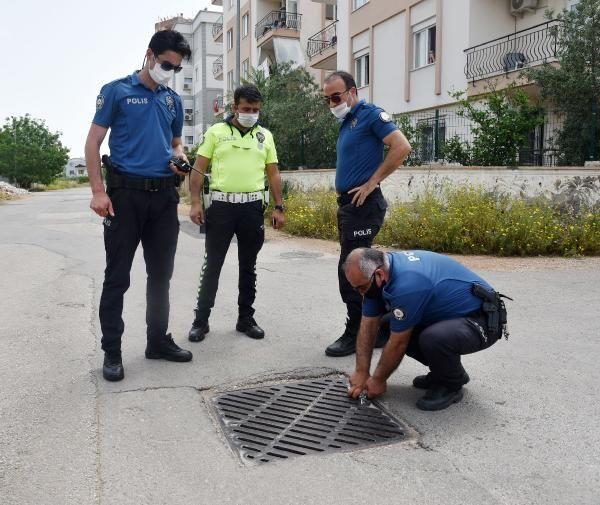 İnanılmaz olay! Uyuşturucu almak için girdiği kanalizasyonda mahsur kaldı!