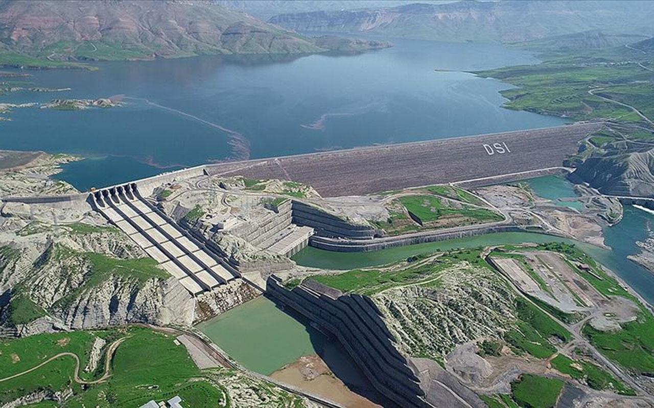 Ilısu Barajı'nda elektrik üretimi bugün başladı! Erdoğan'dan önemli açıklamalar