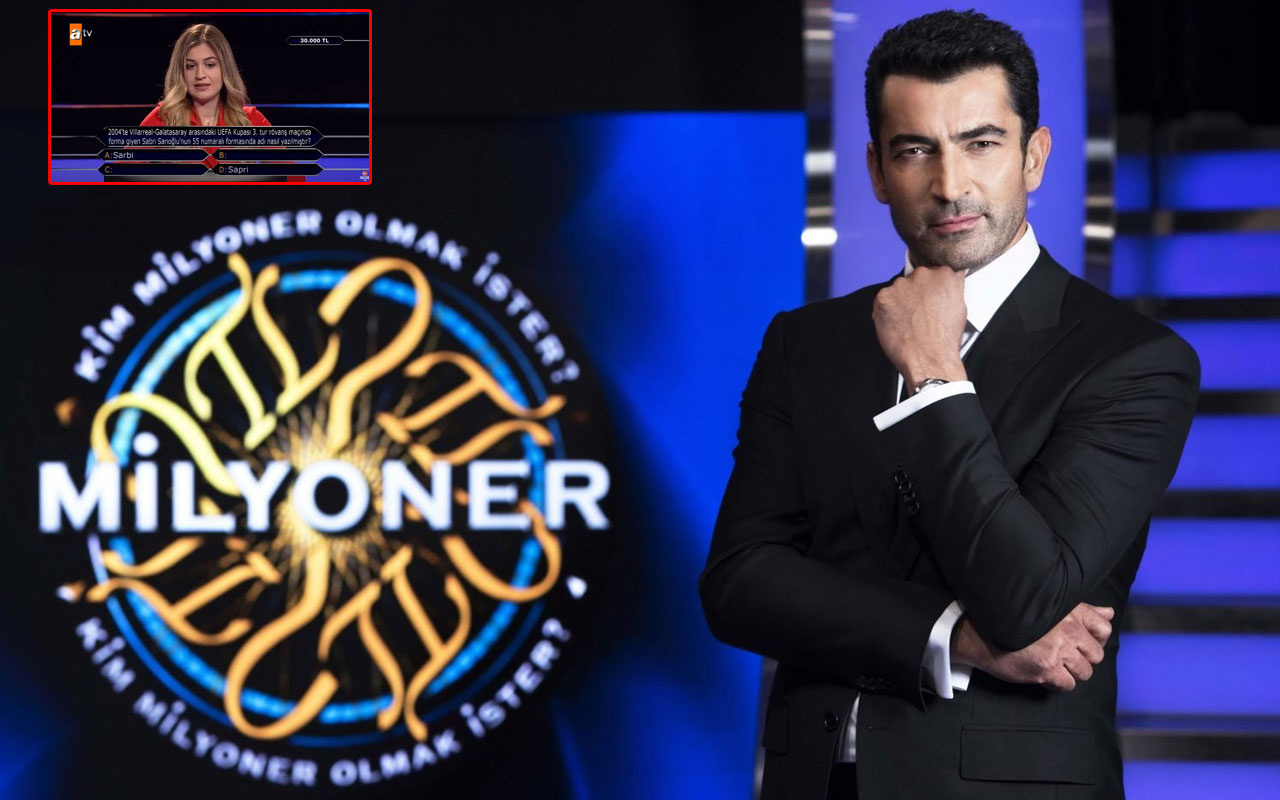 Kim Milyoner Olmak İster'de Sabri Sarıoğlu sorusu sosyal medyayı salladı!