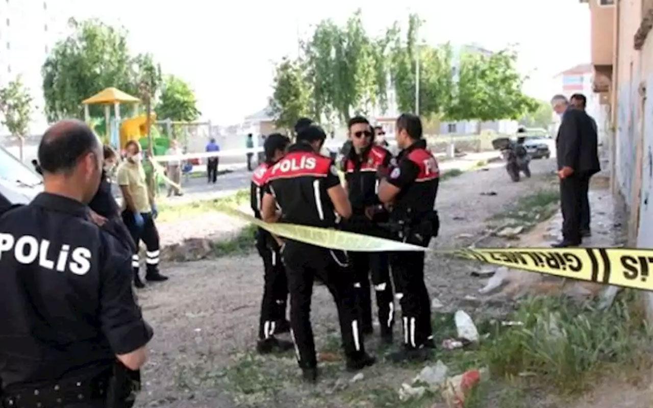 Metruk binaya giren çocuklar, tavana asılı ceset buldu