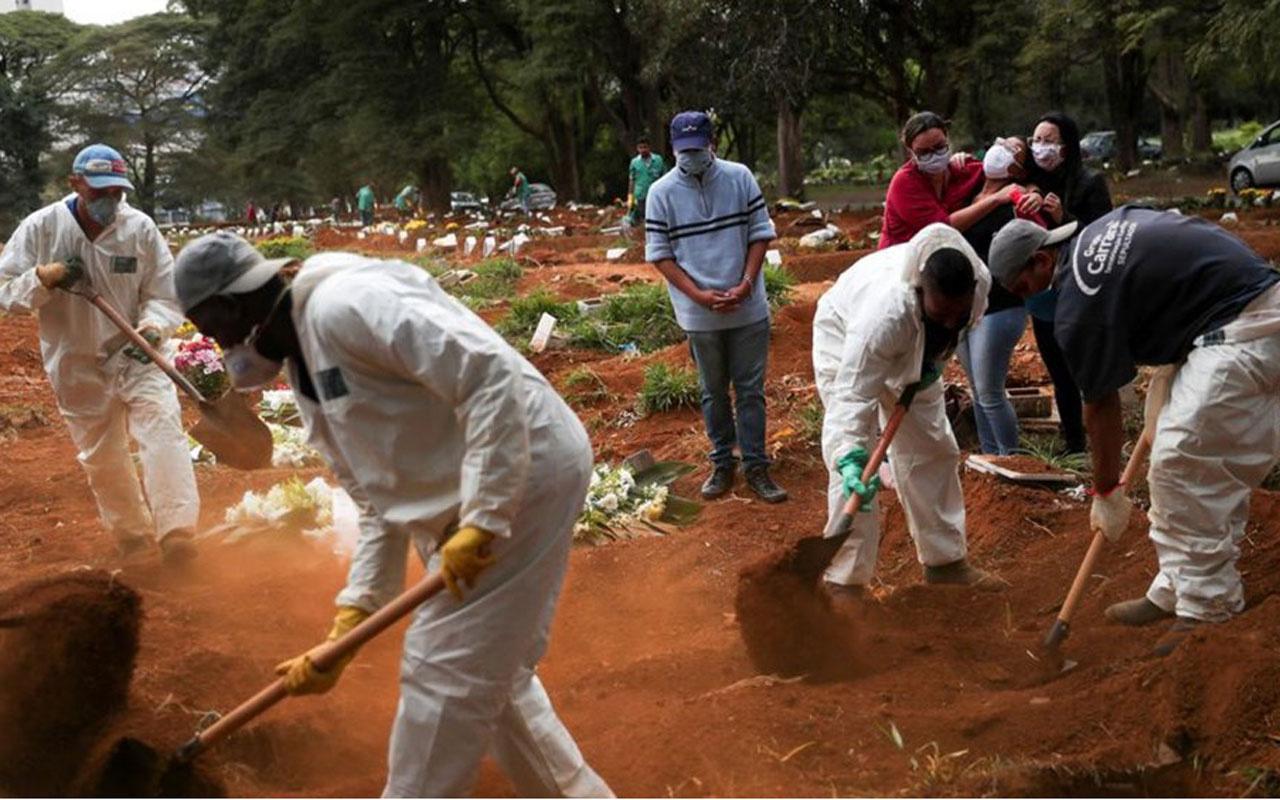 Brezilya'da Covid-19'dan ölenlerin sayısı bin 179 artarak 17 bin 971'e yükseldi