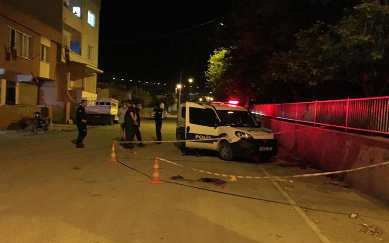 Gaziantep'te tartıştığı genci göğsünden bıçakladı