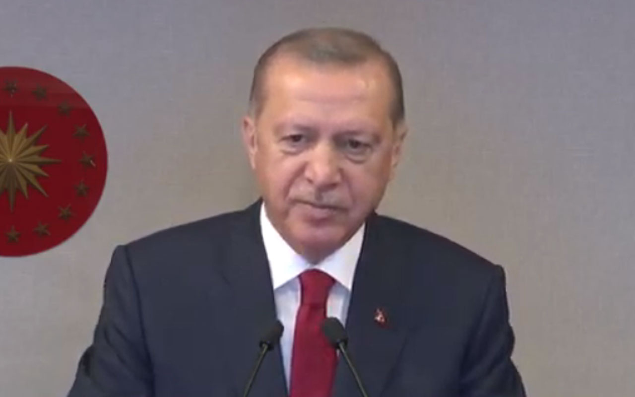 Cumhurbaşkanı Erdoğan'dan hakim ve savcılara: İmzanızı hiçbir gücün emrine vermeyin