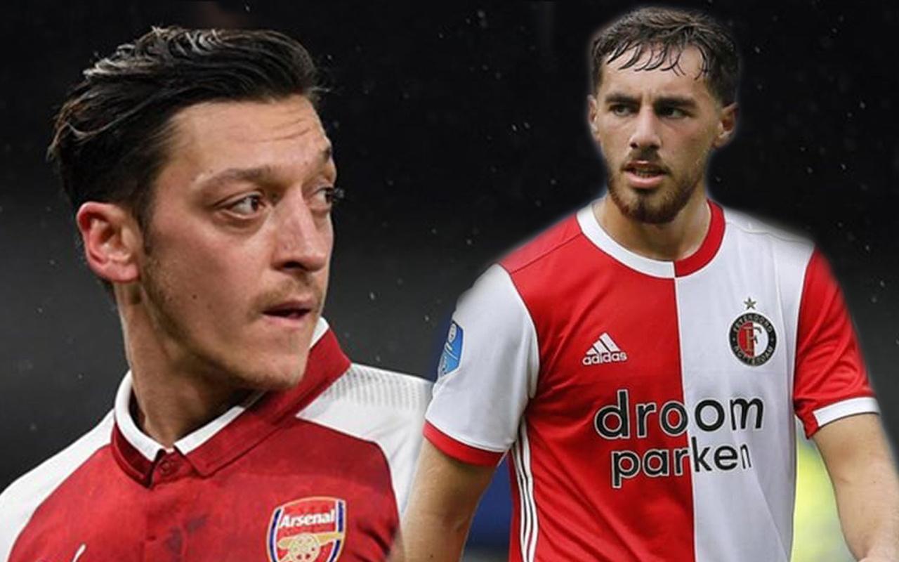 Arsenal Mesut Özil'in yerini Orkun Kökçü ile doldurmak istiyor