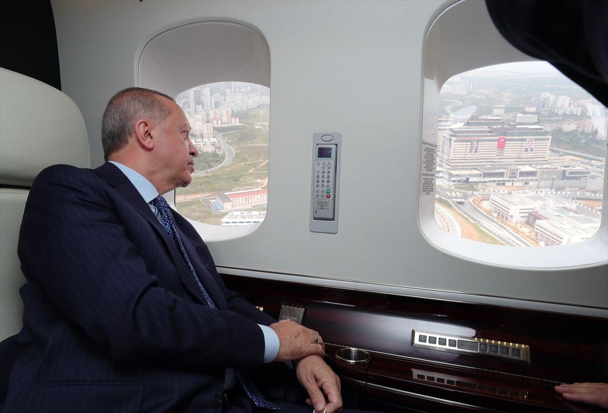 Başakşehir Çam ve Sakura Hastanesi açılıyor! Erdoğan inceleme yaptı