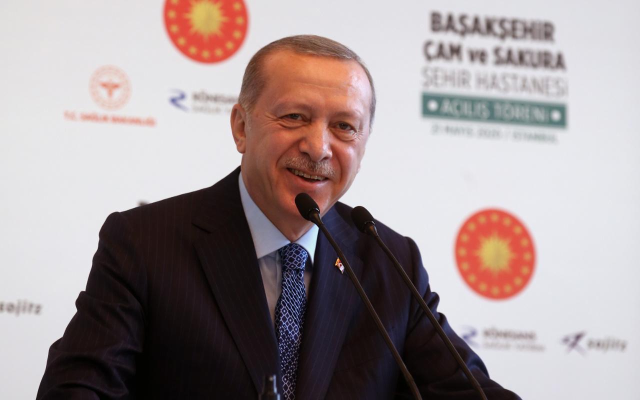 Erdoğan'dan Başakşehir Çam ve Sakura Şehir Hastanesi paylaşımı
