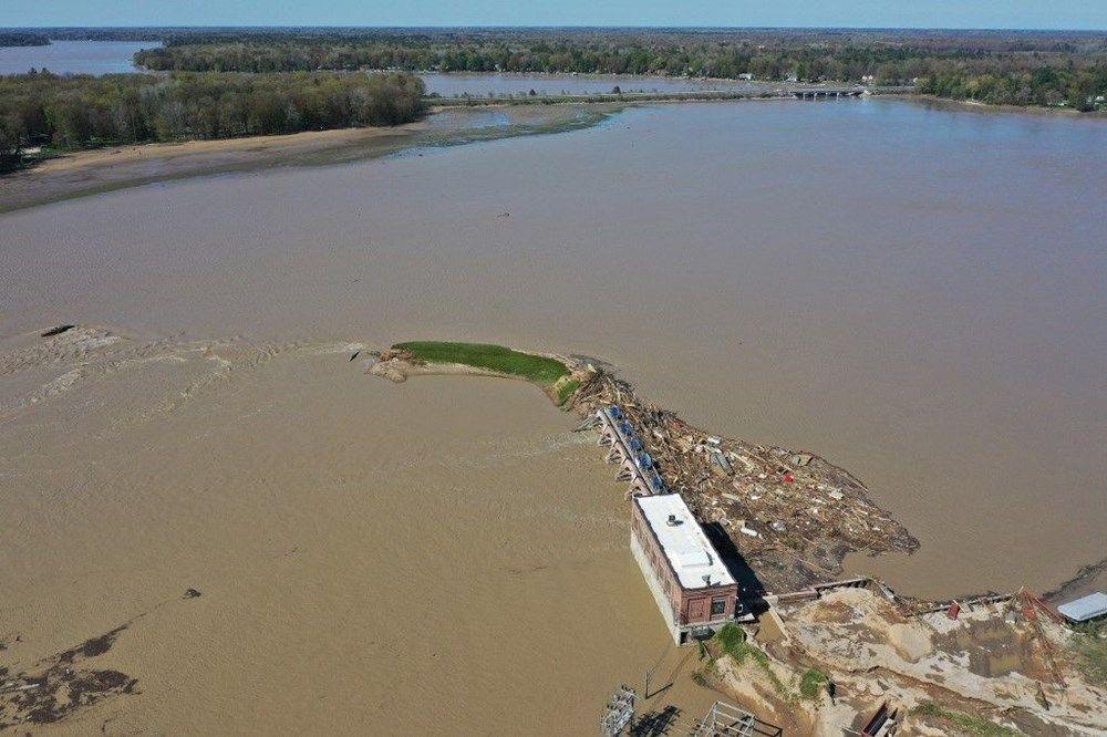 ABD'de iki baraj çöktü! Son 500 yılın en büyük su baskını