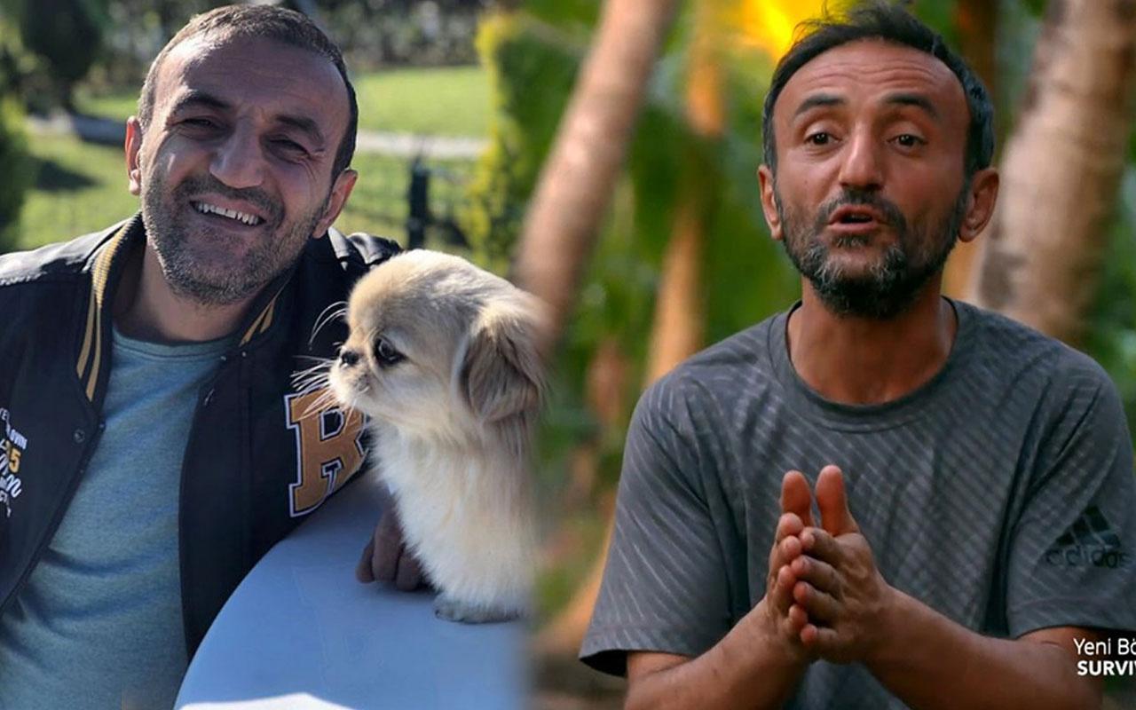 Survivor Ersin Korkut ölen köpeği Mes'in yerine yenisi buldu