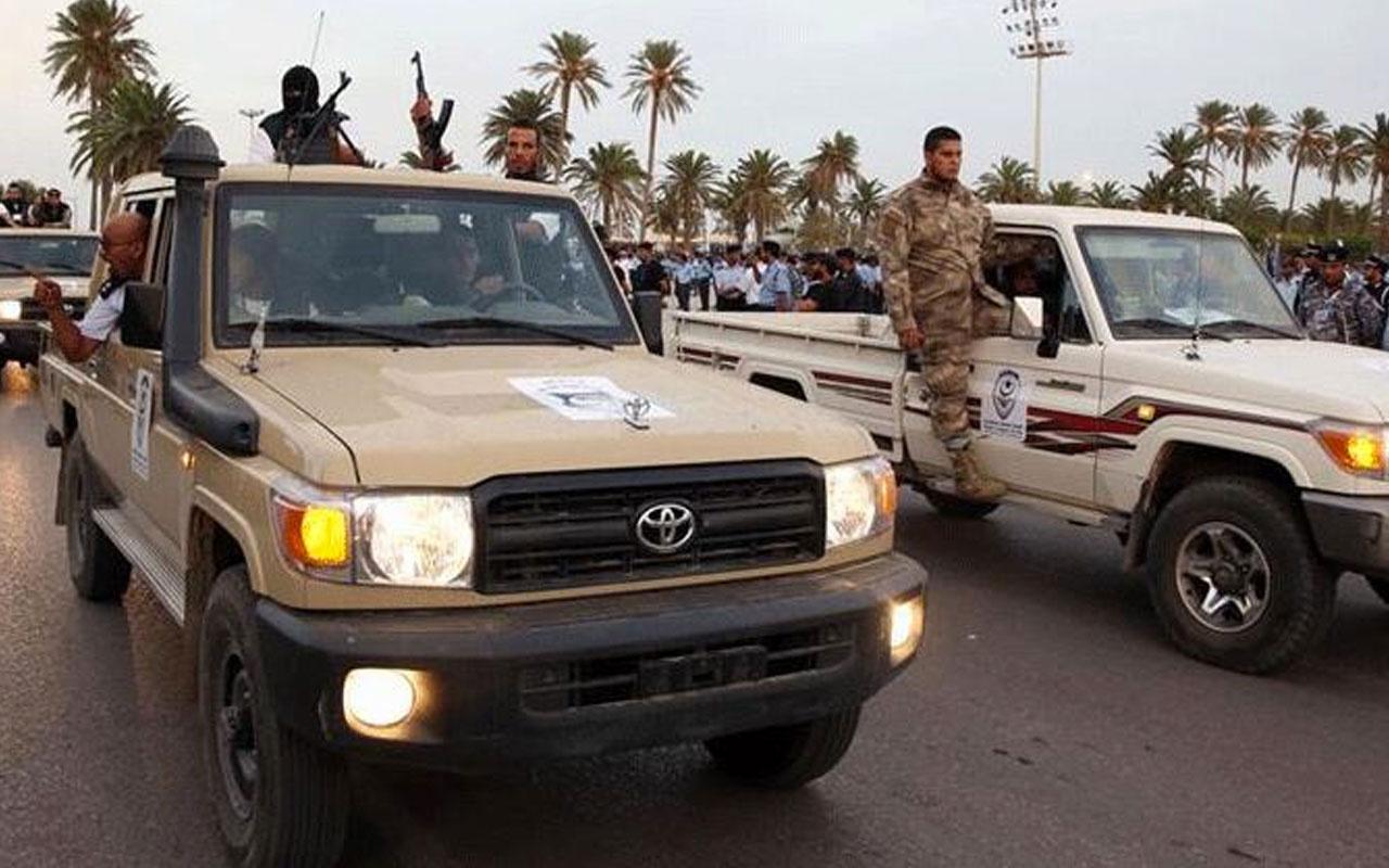 Libya'da Hafter milislerine darbe üstüne darbe! Esabia beldesi de kurtarıldı