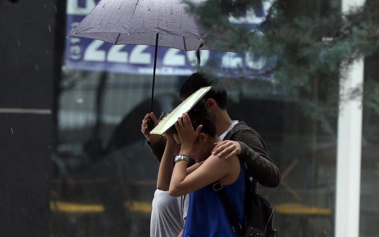 Meteoroloji uyarı verdi dün bastırmıştı bayramda da fırtına yağmur var