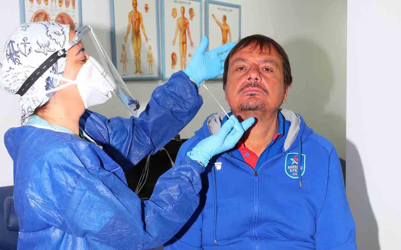 Anadolu Efes koronavirüs testinden geçti