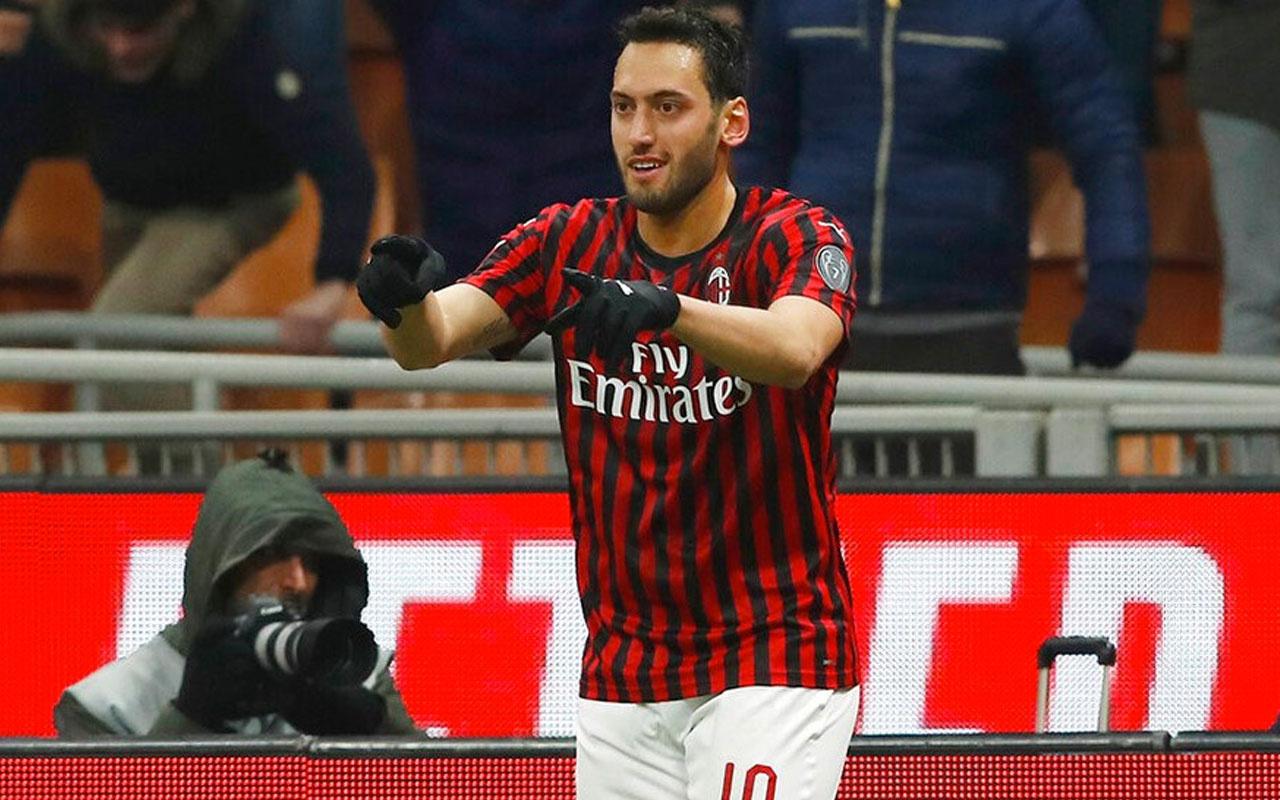 Hakan Çalhanoğlu Milan'ın kahramanı olacak