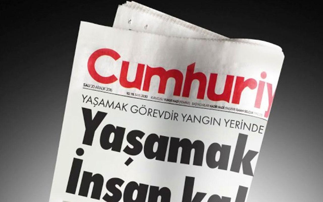 Cumhuriyet gazetesine Fahrettin Altun hakkındaki asılsız haberi nedeniyle ceza