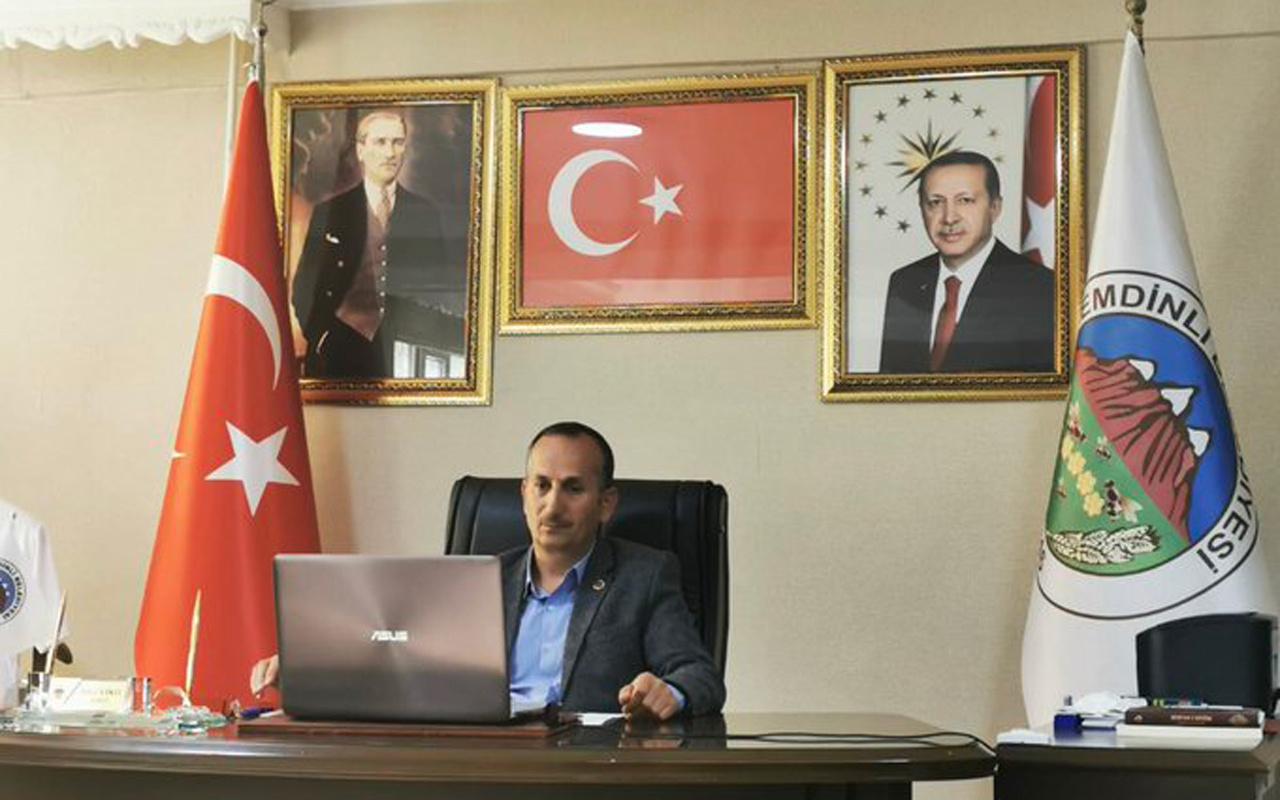 AK Parti'li Şemdinli Belediye Başkanı Tahir Saklı koronavirüse yakalandı