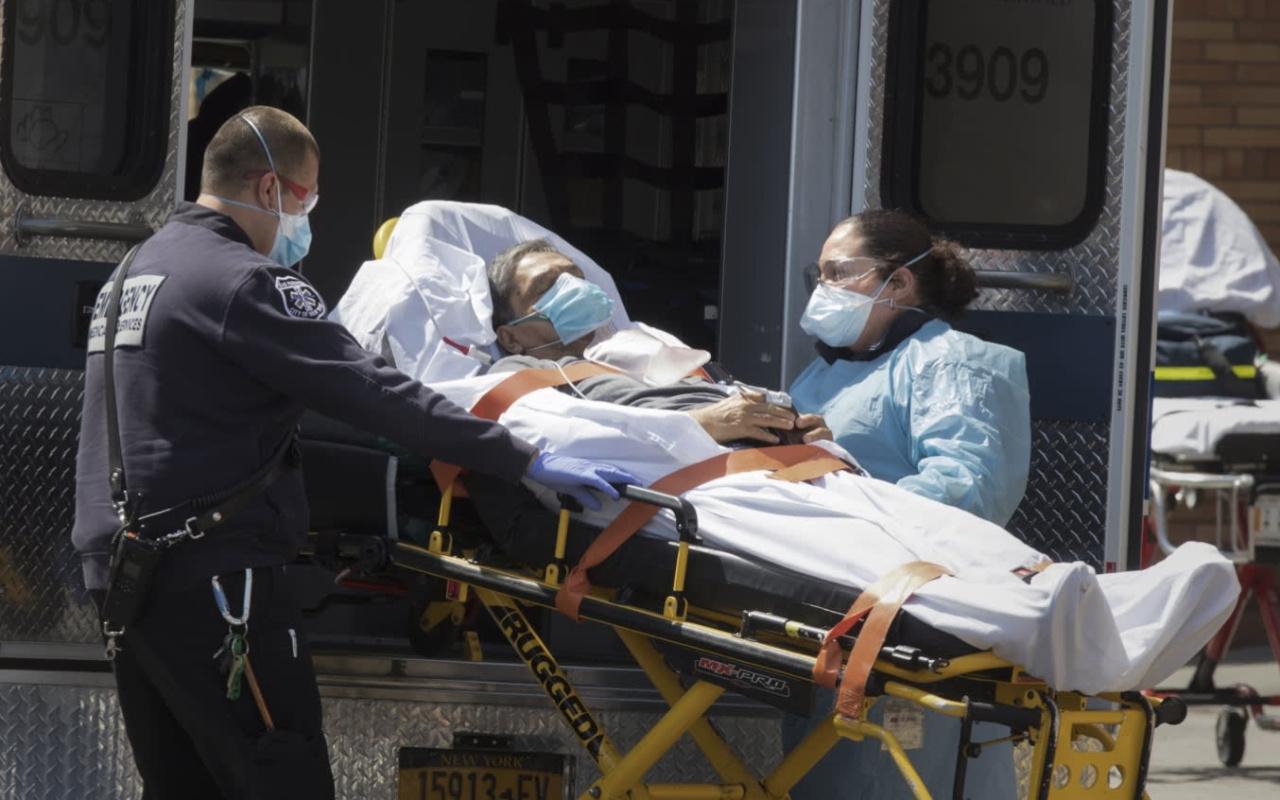 ABD'de koronavirüs nedeniyle ölenlerin sayısı 96 bin 389 oldu
