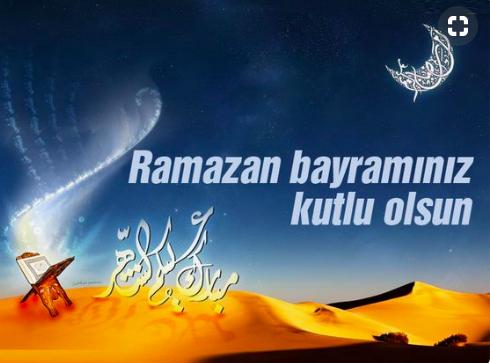 Bayram mesajları 2020 kısa resimli Ramazan bayramı kutlama sözleri