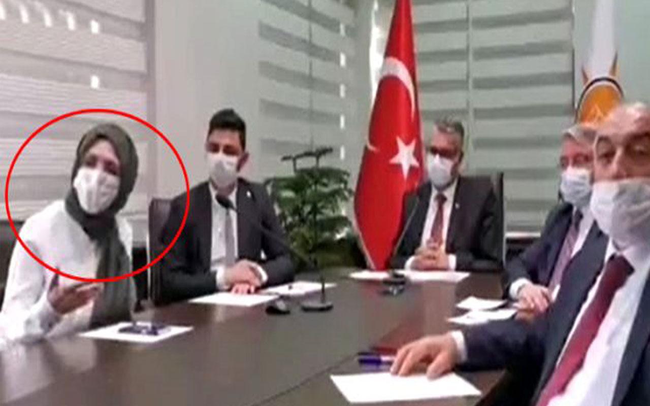 AK Partili Kadın Kolları Başkanı Meryem Demir'den Erdoğan'a olay sözler