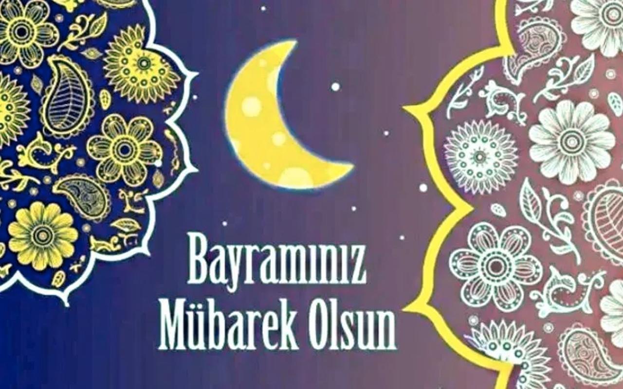 Ramazan bayramı mesajları resimli kısa 2020 bayram kutlama sözleri