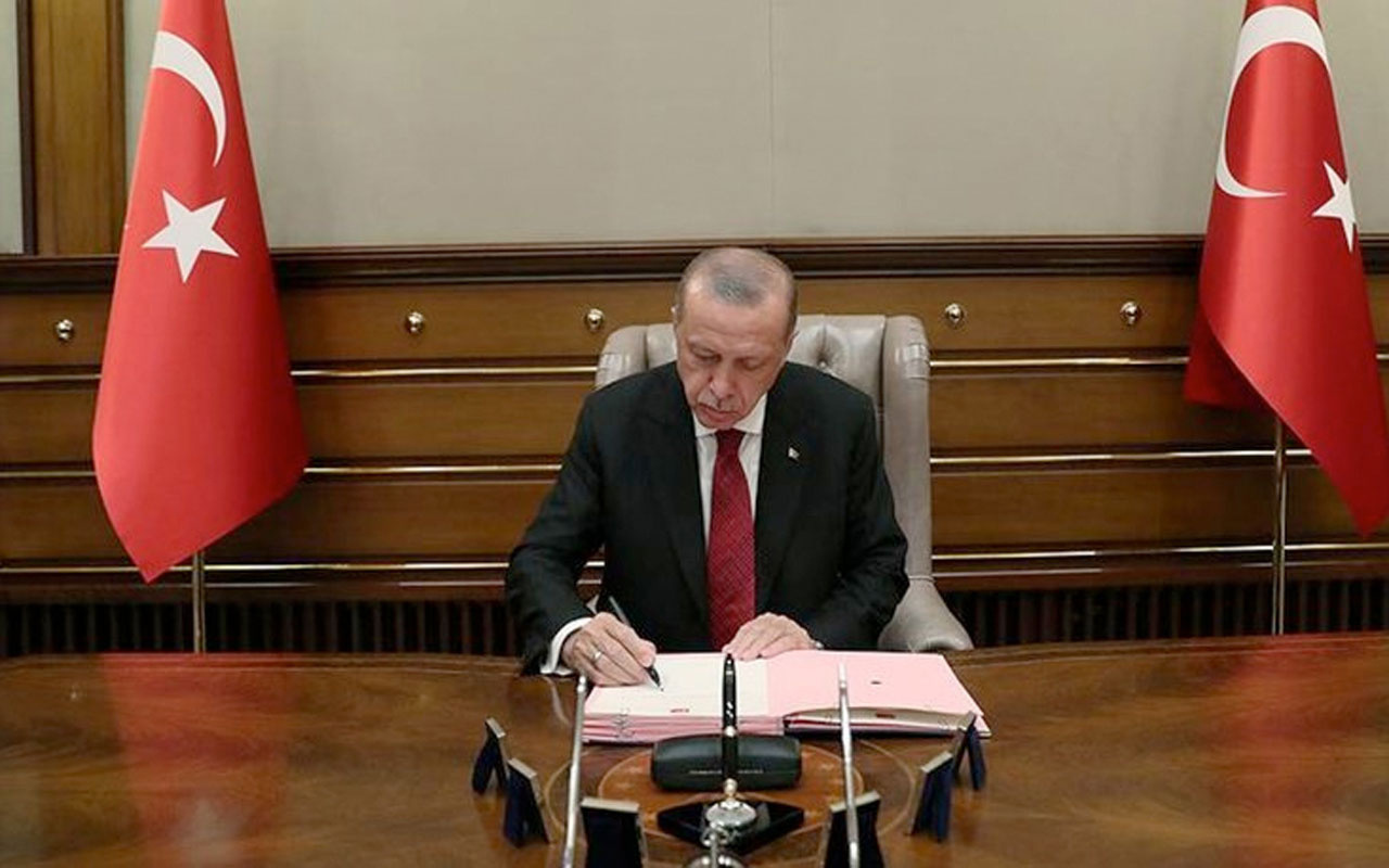 Cumhurbaşkanı Erdoğan gece yarısı imzaladı atama kararları Resmi Gazete'de