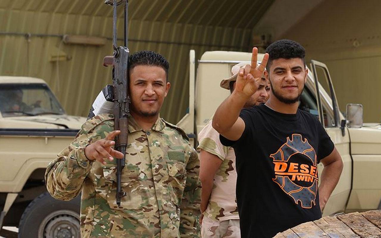 Libya Ordusu, başkentin güneyindeki Yermük Askeri Kampı'nda kontrolü sağladı