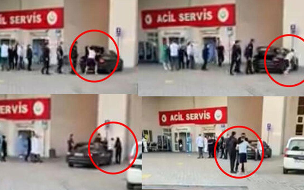 Kocaeli'de güvenlik görevlisine testereyle saldırdı, o anlar kameraya böyle yansıdı