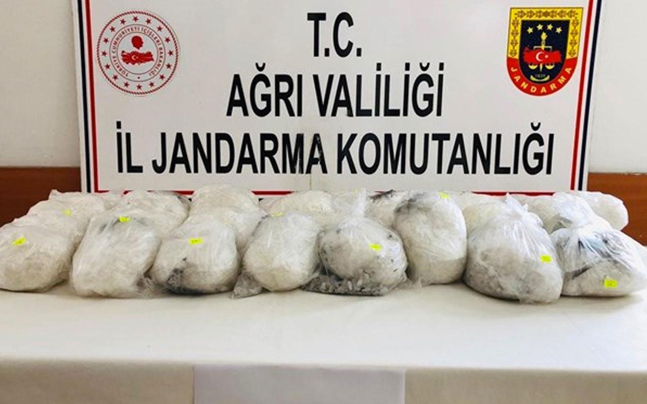 Türkiye-İran sınırında 30 kilo metamfetamin yakalandı! Değeri 6 milyon 380 bin lira