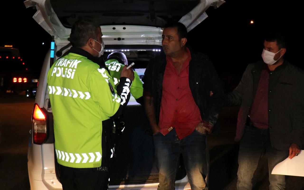 Sakarya'da inanılmaz olay! Alkollü ve ehliyetsiz sürücünün yemediği ceza kalmadı
