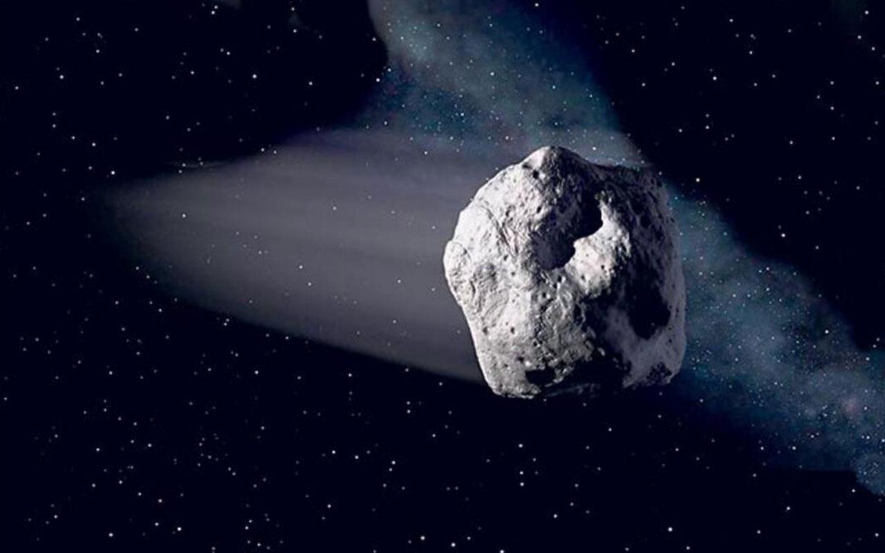 NASA'dan göktaşı açıklaması! Dünyayı teğet geçecek