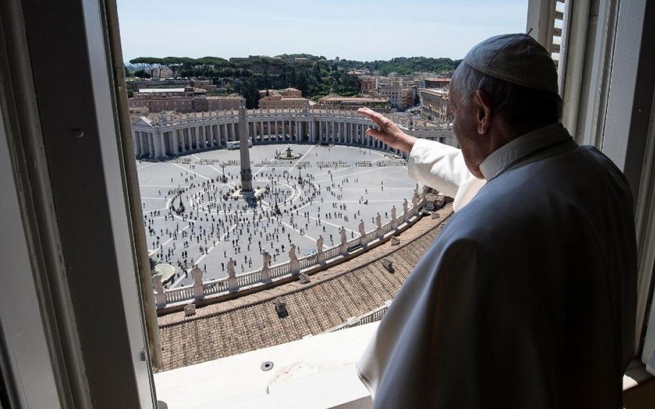 Papa Francis 3 ay aradan sonra ilk kutsamayı yaptı