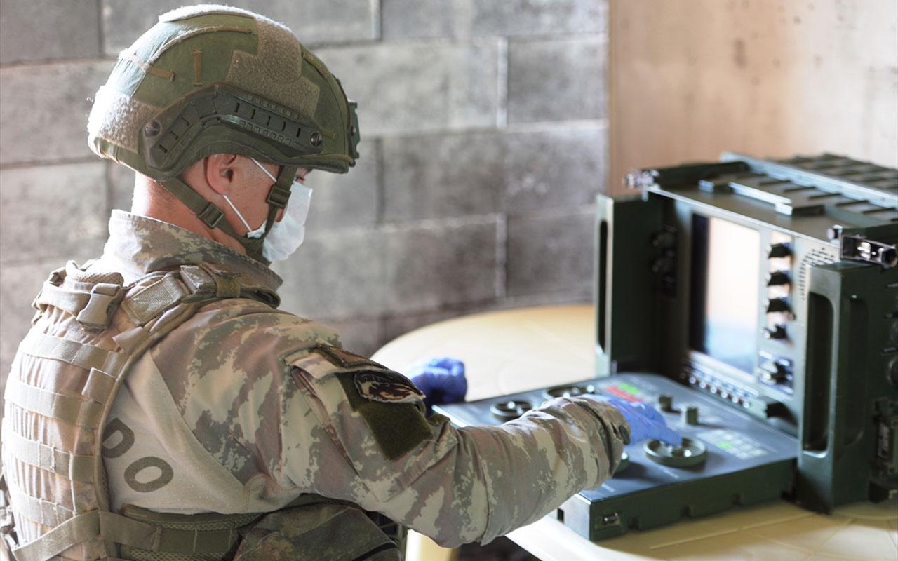 Sınırlar böyle korunuyor! Yerli radarla tespit edilen teröristler yerli silahla imha ediliyor