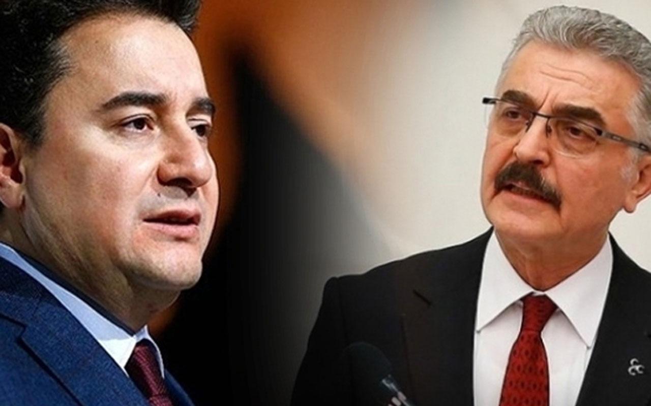 MHP'den Ali Babacan'a çok sert cevap: Demokrasi faresi