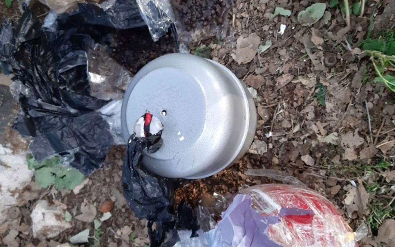 Diyarbakır'da mezarlıkta ele geçirilen patlayıcılarla ilgili 4 tutuklama
