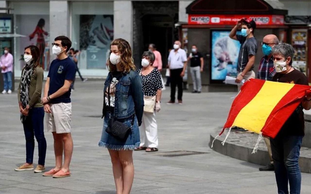 İspanya'da 10 günlük yas ilan edildi