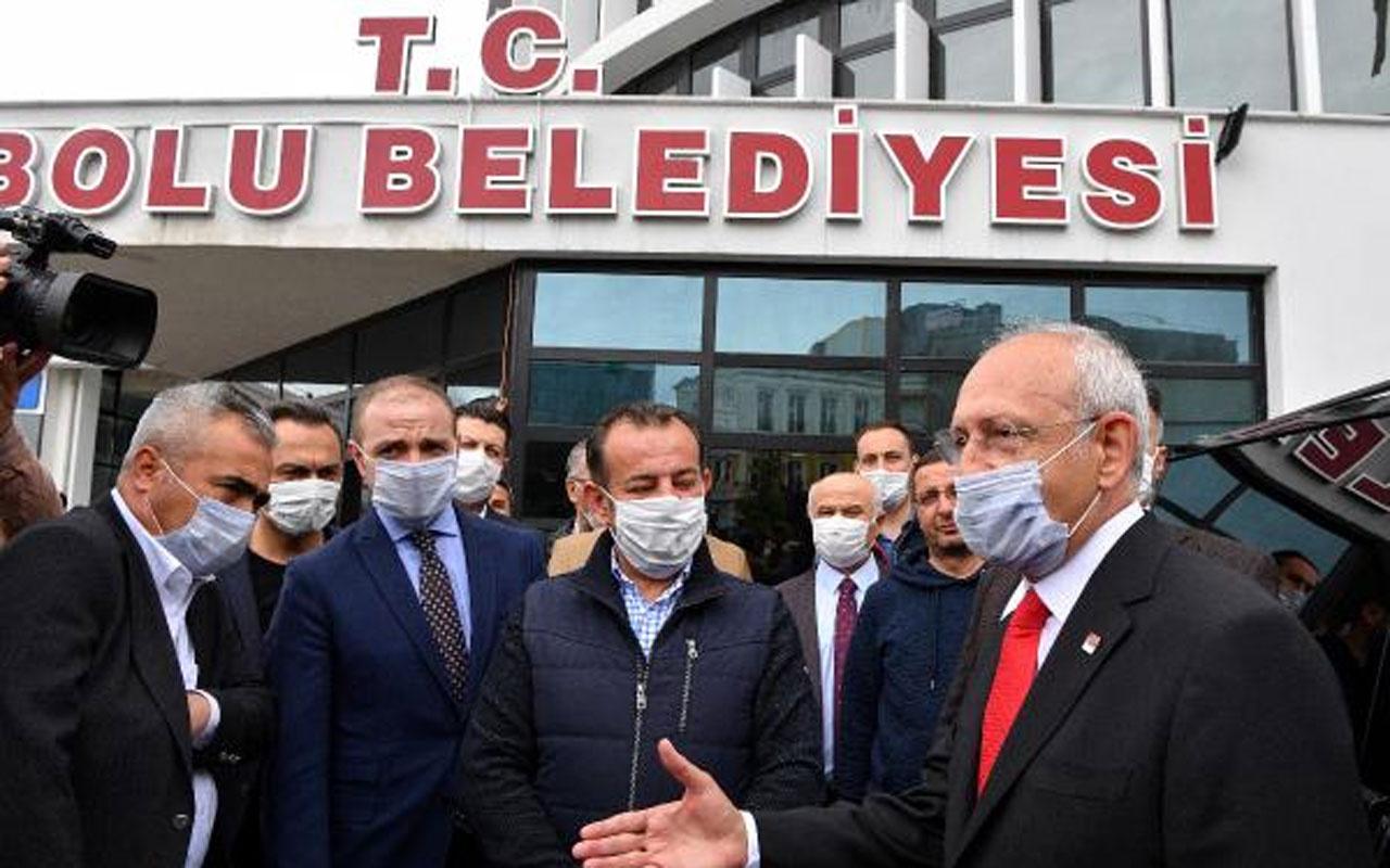 Kılıçdaroğlu Bolu Belediyesi'ni ziyaret etti