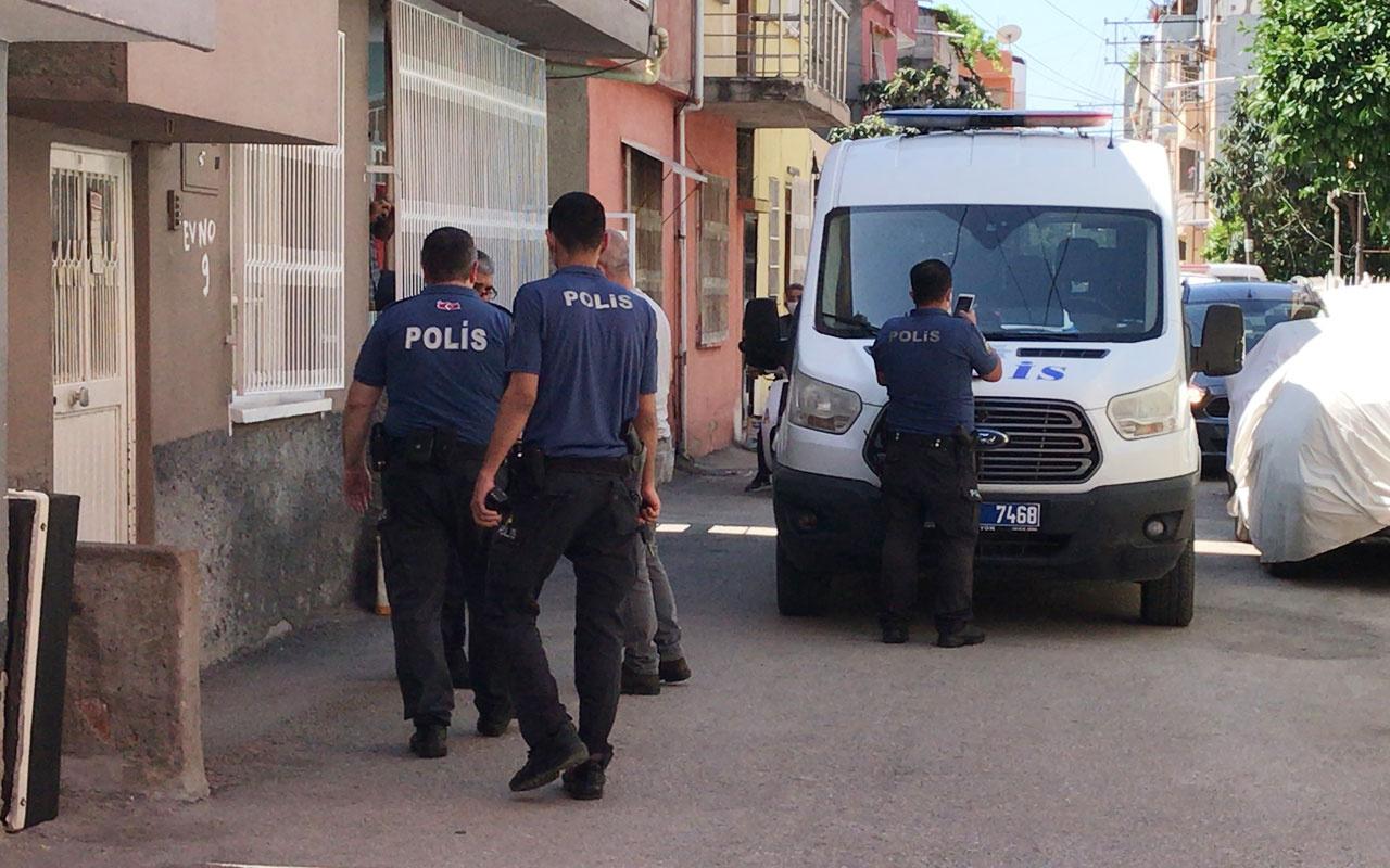 Adana'da eşini dövdü babası ve kardeşini de bıçakladı
