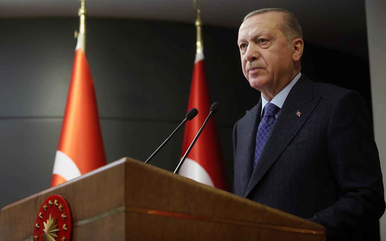 Ayasofya'ya karşı çıkanlara Erdoğan'dan sert tepki: Hedef bizim buradaki varlığımız