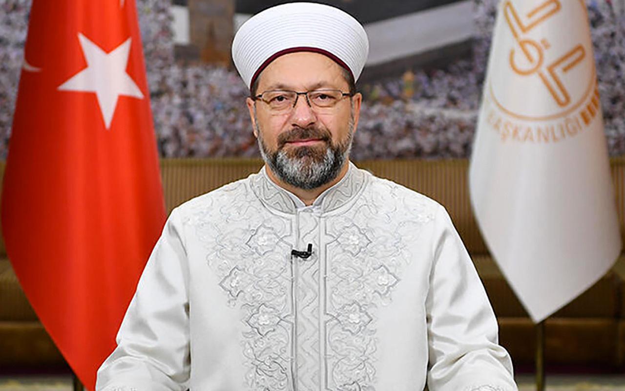 Ali Erbaş: Ülkemiz imam hatip neslinin gayretleriyle bugünleri yaşıyor