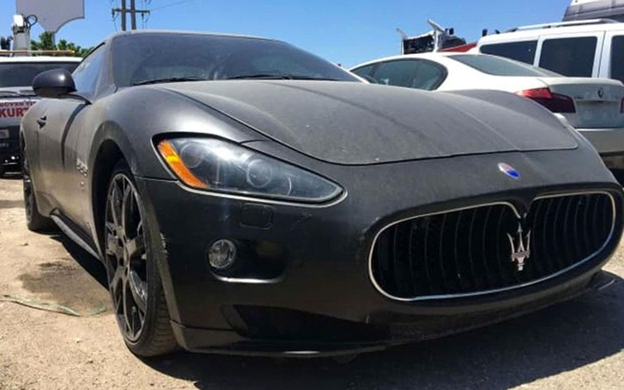 Interpol'ün her yerde aradığı 700 bin liralık Maserati Konya'da bulundu