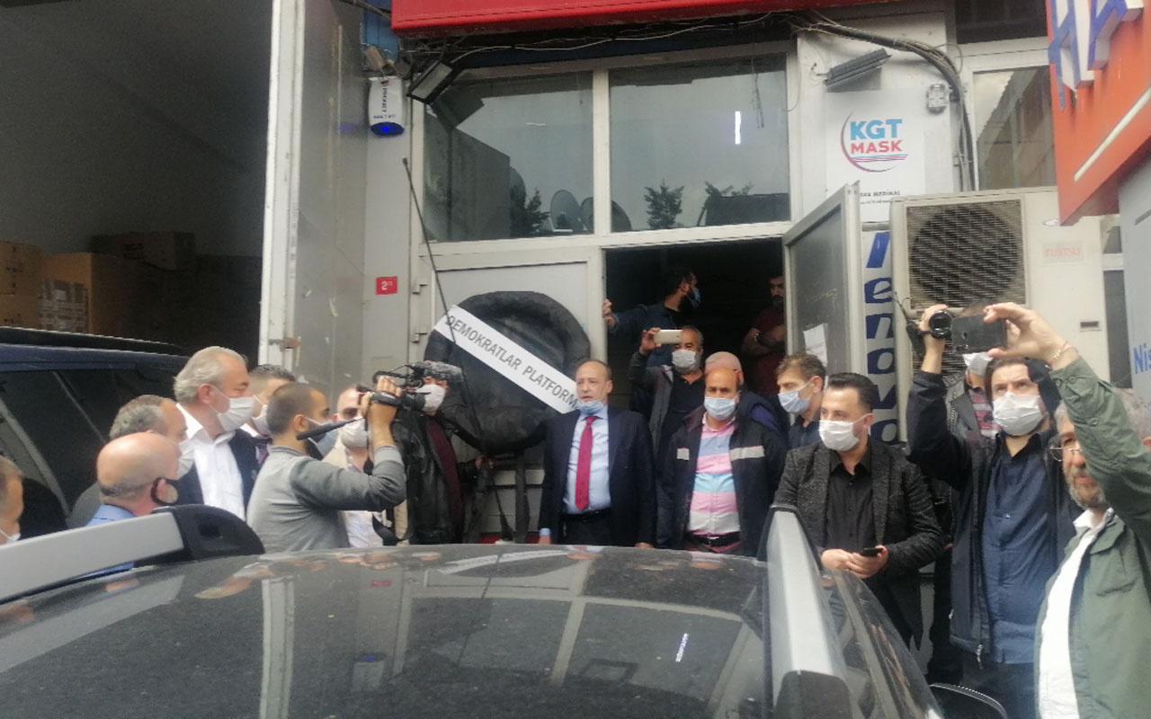 Demokratlar Platformu'ndan Adnan Menderes'e saldıran Merdan Yanardağ'a protesto