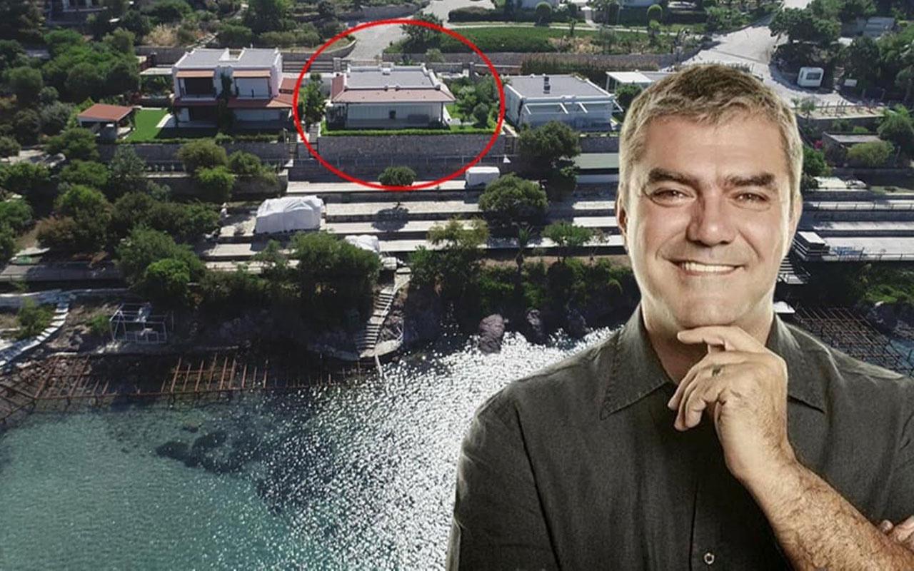 Yılmaz Özdil'in villasındaki kaçak eklentiler yıkılıyor