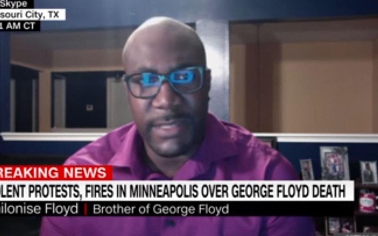 George Floyd'un kardeşinden Trump'a şok suçlama