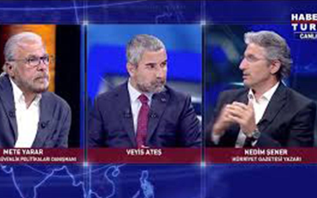 Habertürk' canlı yayında Nedim Şener'den kaos uyarısı!