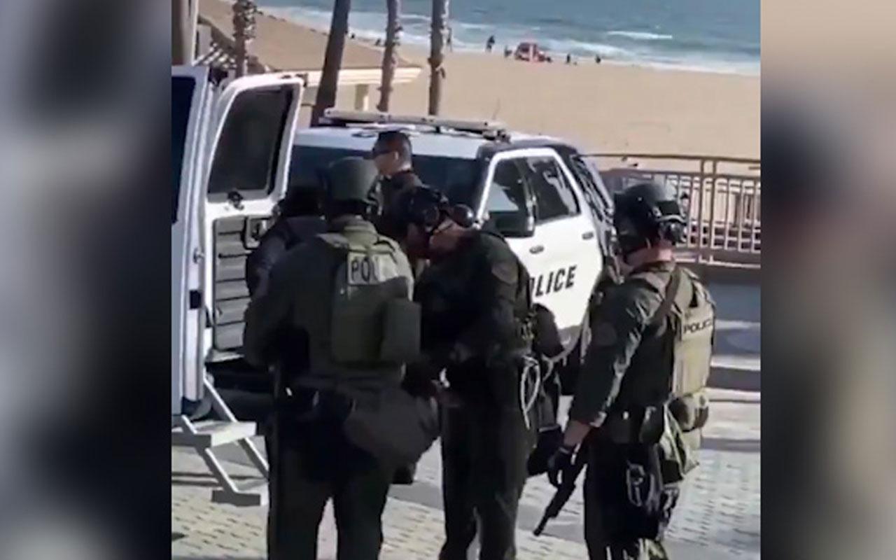 Gözaltına alınan şüpheli polisin elinden böyle kaçtı